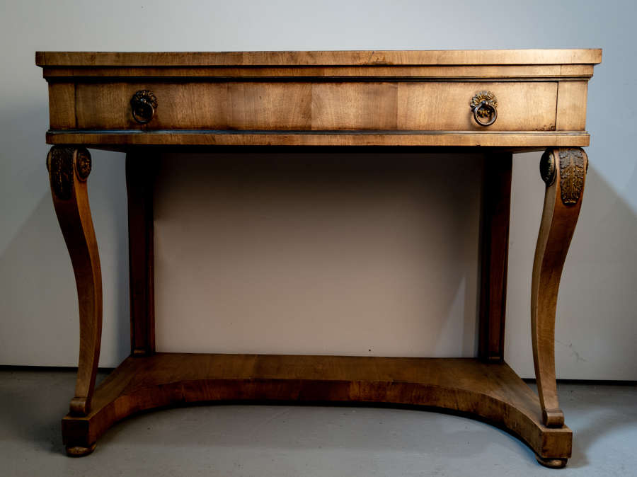 An early 19th Century Italian Walnut Console (2 Available)