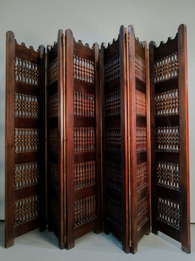 A Mid Century Spanish Screen by Valenti