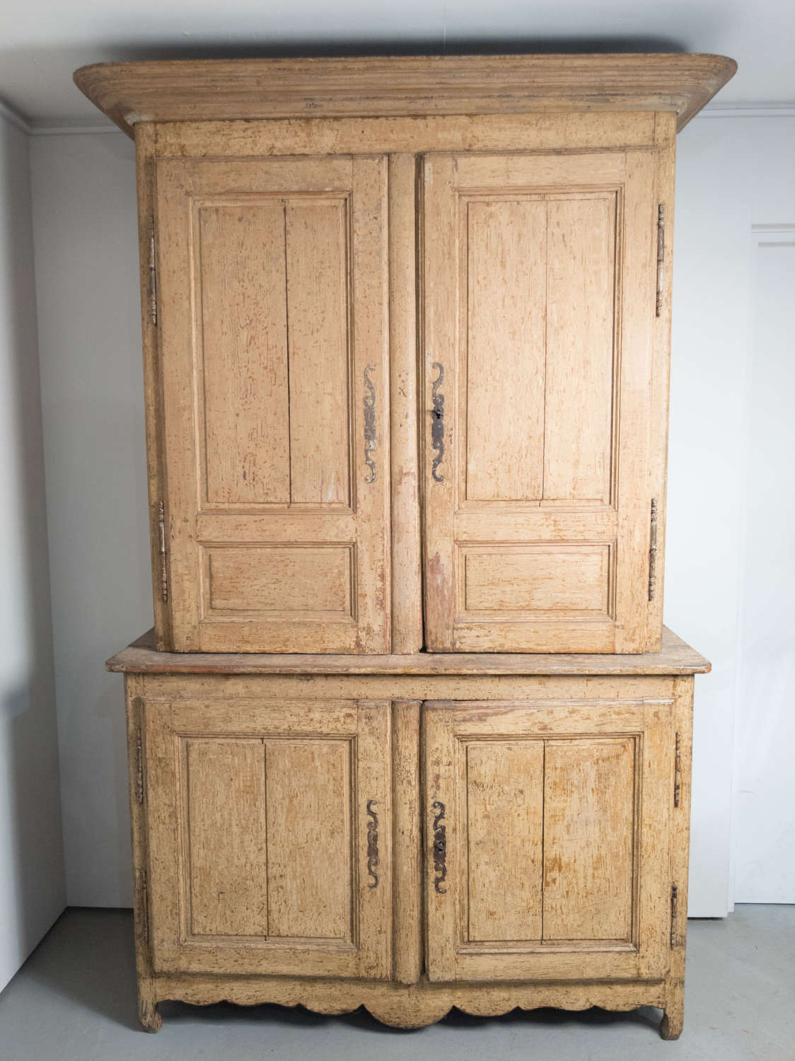 A 19th Century French Buffet deux Corps