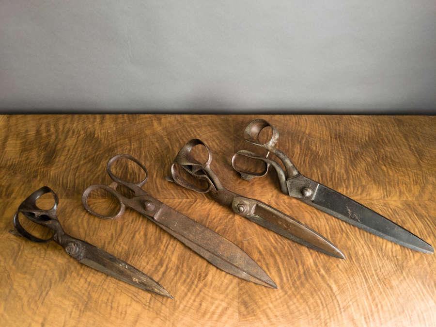 Late 19th Century Tailors scissors