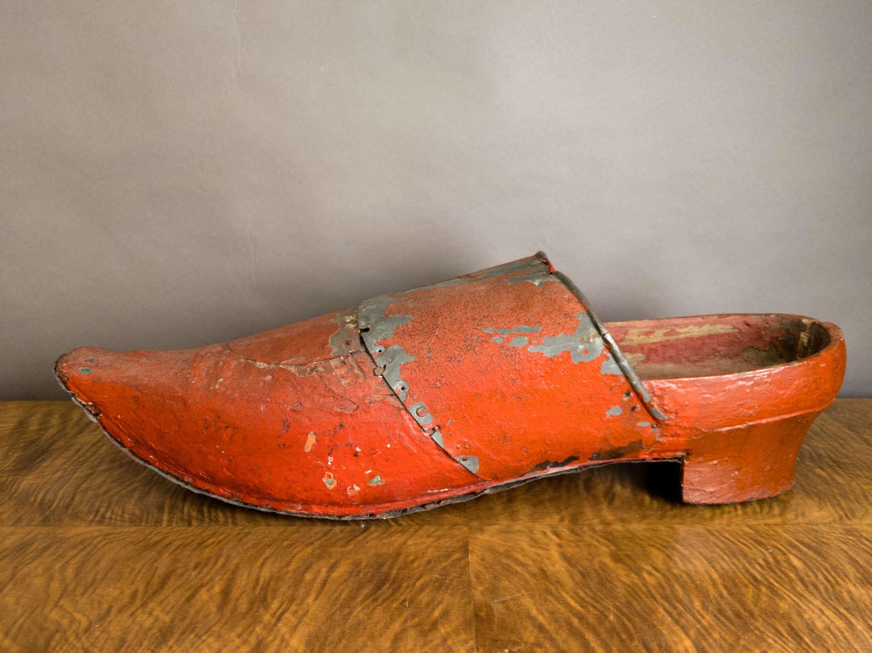 A 19th Century Venetian Shoe Shop Model