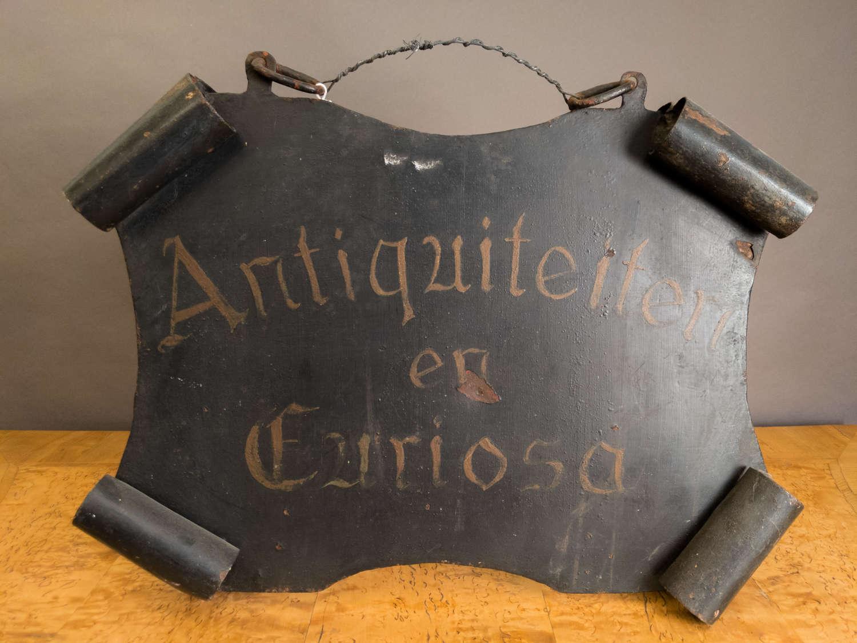 A 19th Century Antique Shop Sign