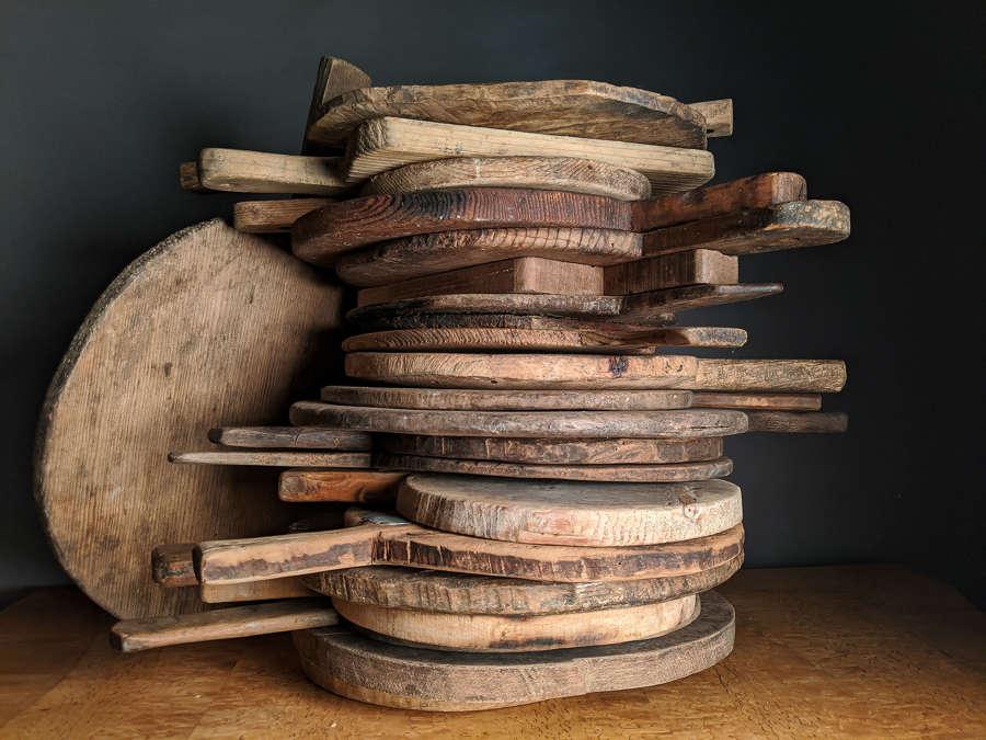 Late 19th Century Belgium Chopping / Bread Boards