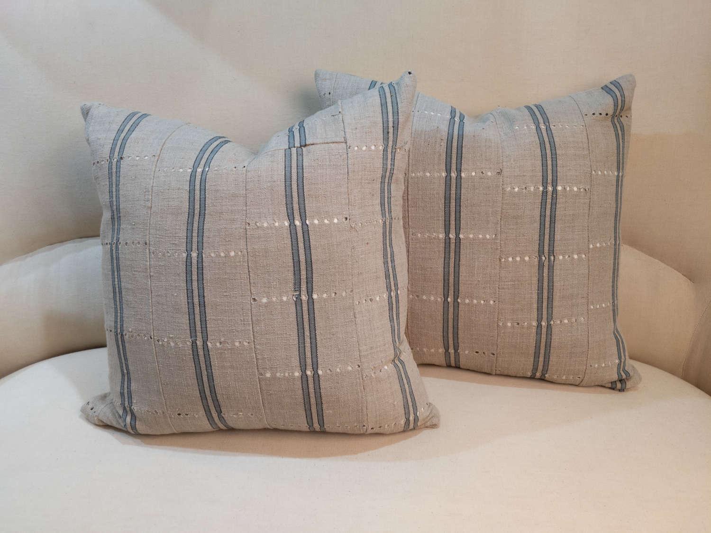 Custom West African Cushions C1950