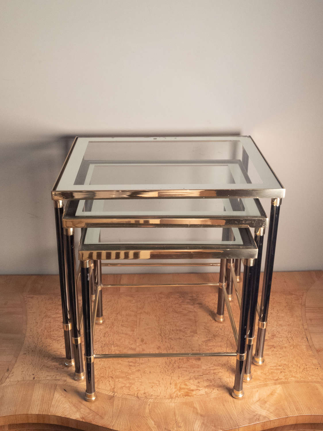 C1970s Nest of 3 occasional tables