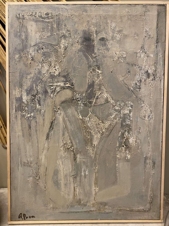 Andrei Pona, Ukraine  A Portrait, Oil on Canvas