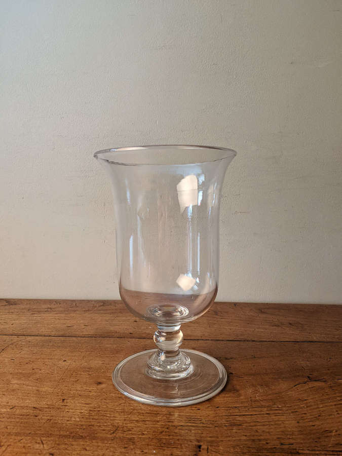 C1890 A Large Glass Vase - these are wonderful tulip vases!