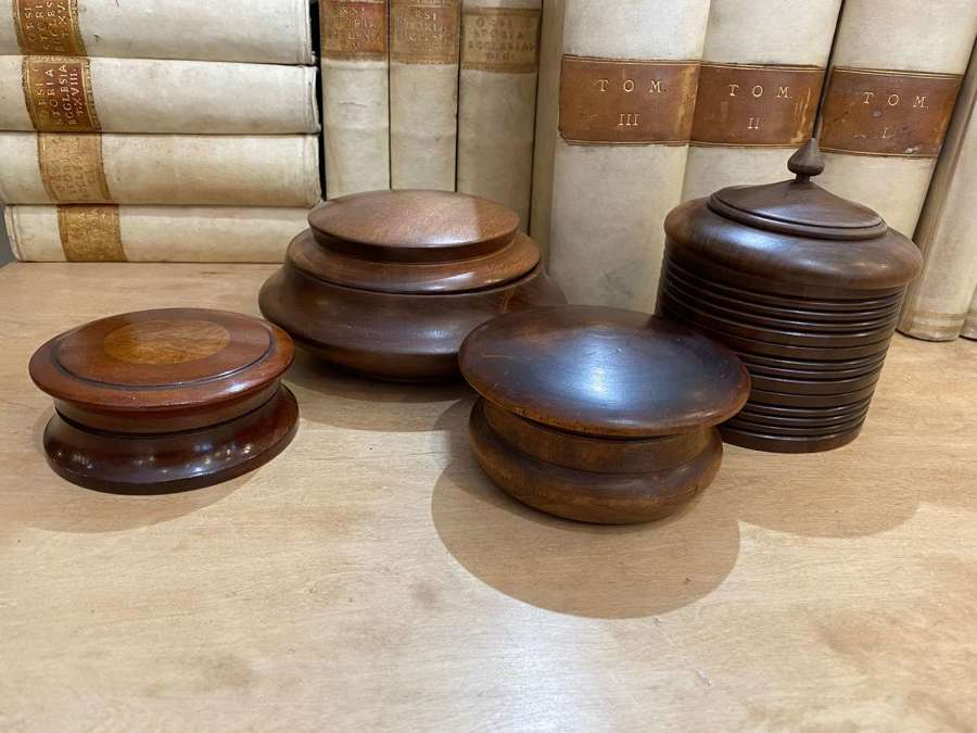 C1890 A Collection of Wooden Boxes - Sold Separately