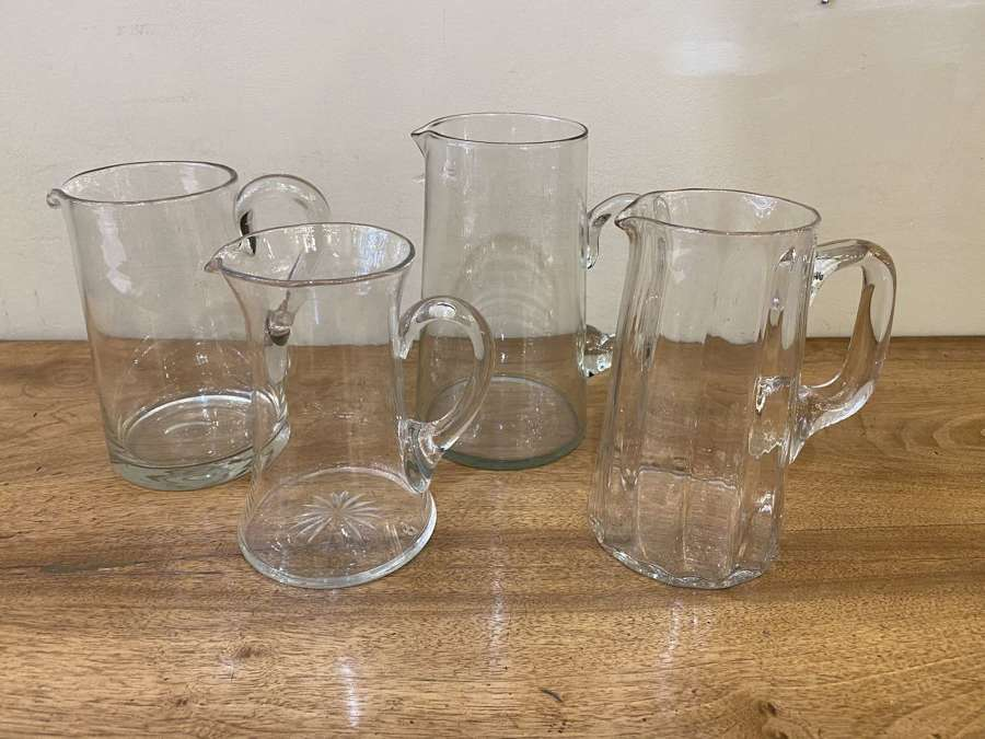 C1880 Glass Jugs - Sold Separately