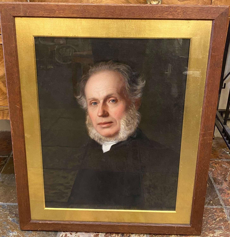 1866 Oil on Canvas - Rev Henry Stuart of Oathlaw