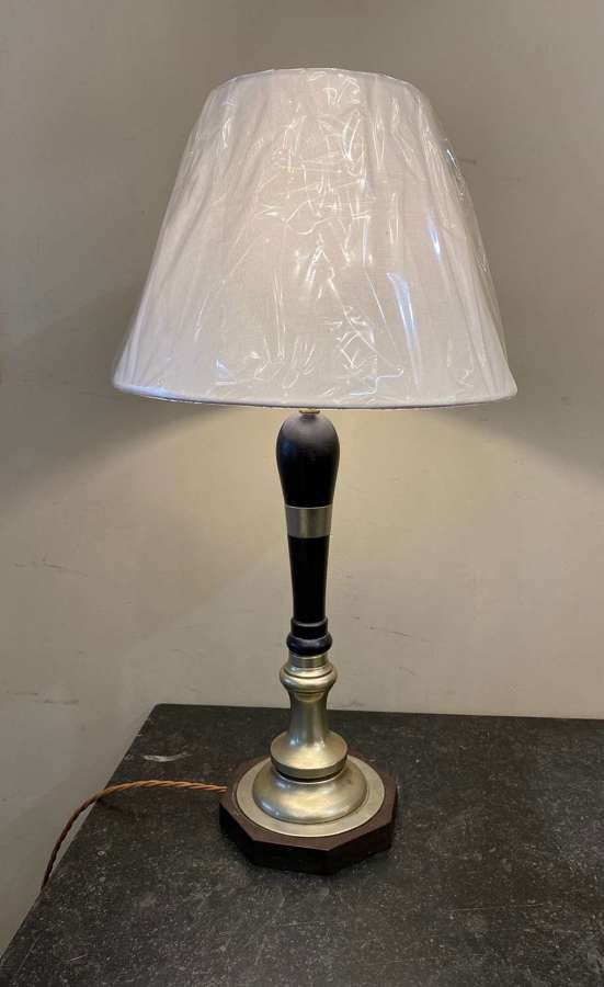 C1950 A Converted  Beer Pump Table Lamp